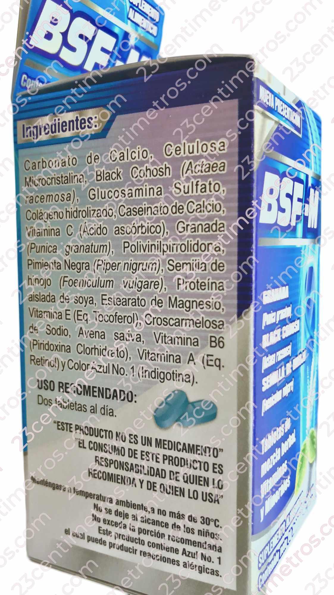 Ingredientes Naturales BSFM Big Size For Men BigSize Para Hombre