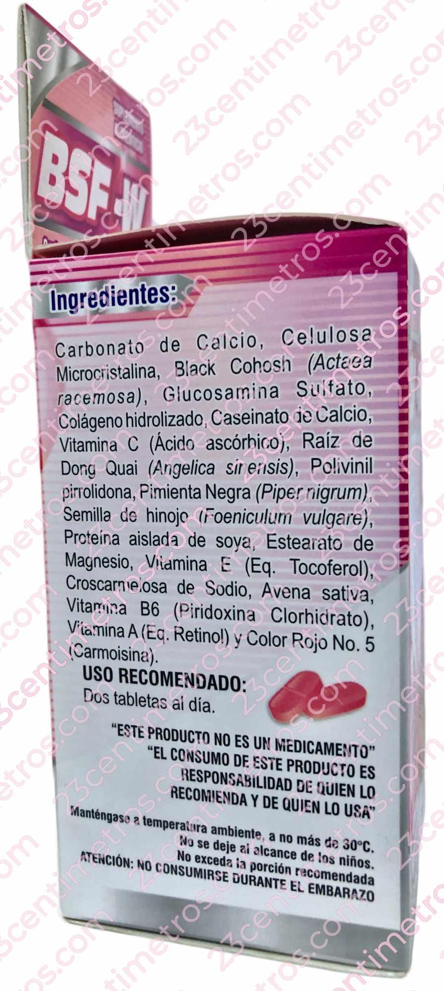 Ingredientes Naturales BSFW Big Size For Women BigSize Para Mujer